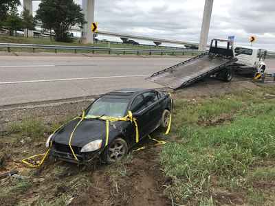 Accident towing inArlington, Texas