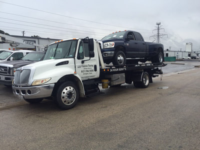 Truck towing services in Arlington, Texas