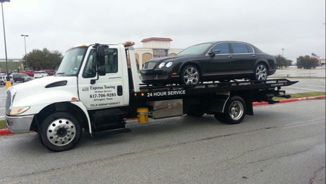 Flatbed towing company arlington, Texas