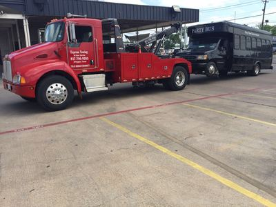 bust towing services in Arlington, Texas