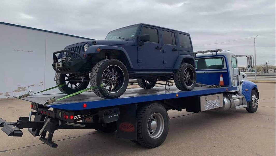 cheap flatbed towing in Arlington, Texas
