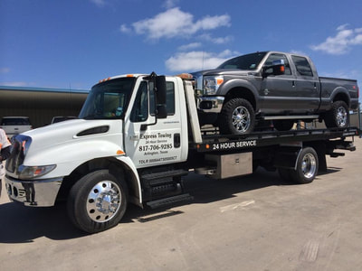truck towing in DFW