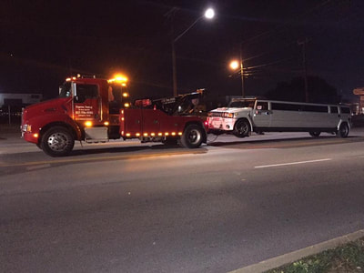 limo towing services in Arlington, Texas